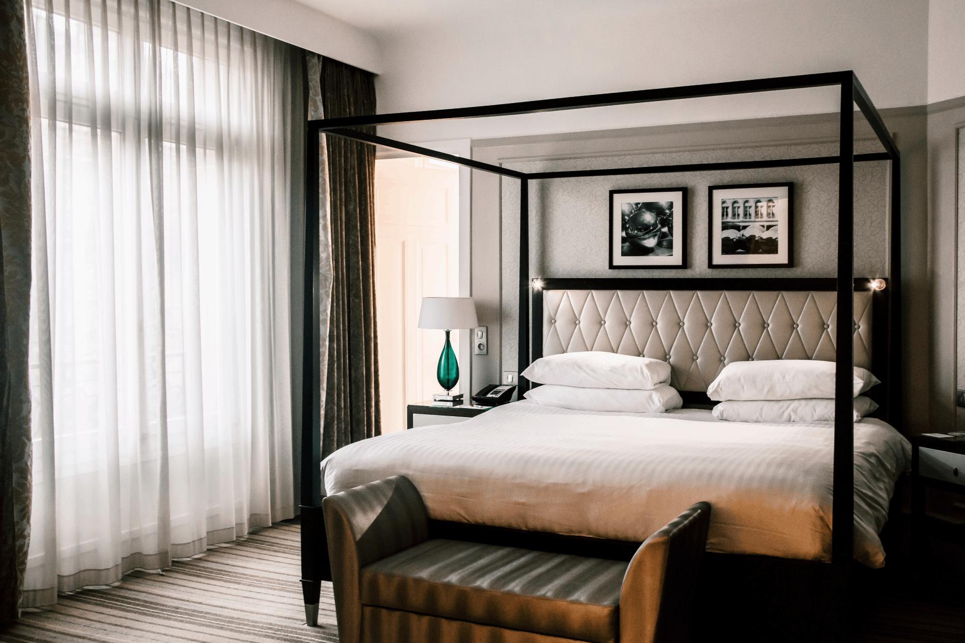 Chambre d'hôtel au Marriott